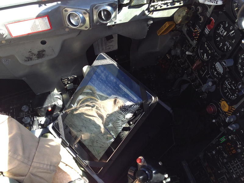 iPad in Real Life: Erik Hess, F-5N Tiger II Pilot - MacStories